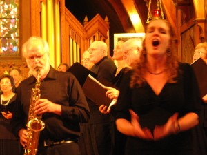 Bonnie Brooks, mezzo-soprano and Howard Ballinger,sax