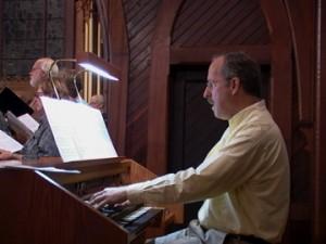 David Parsons, organist