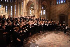 CRC and the Monteverdi Chorus of Budapest in Hungary.