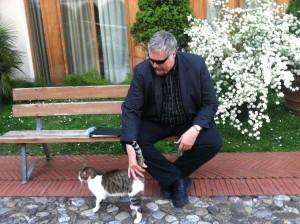 Robert loves this Italian cat!