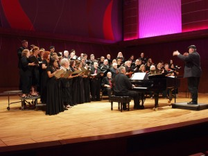 CRC sings with ARS VOCALIS at the Conservatory of Music in San Juan, Puerto Rico in Jan. 2014
