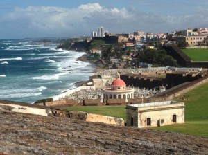 From El Morro fort in Old San Juan.