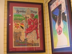 Poster art museum in Dorado, Puerto Rico.