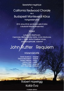 CRC and Monteverdi perform at the Matthias Church.