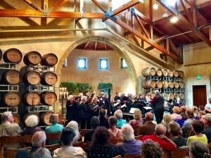 CRC performs to 170 happy people at Jacuzzi Family Vineyards April 24, 2016.