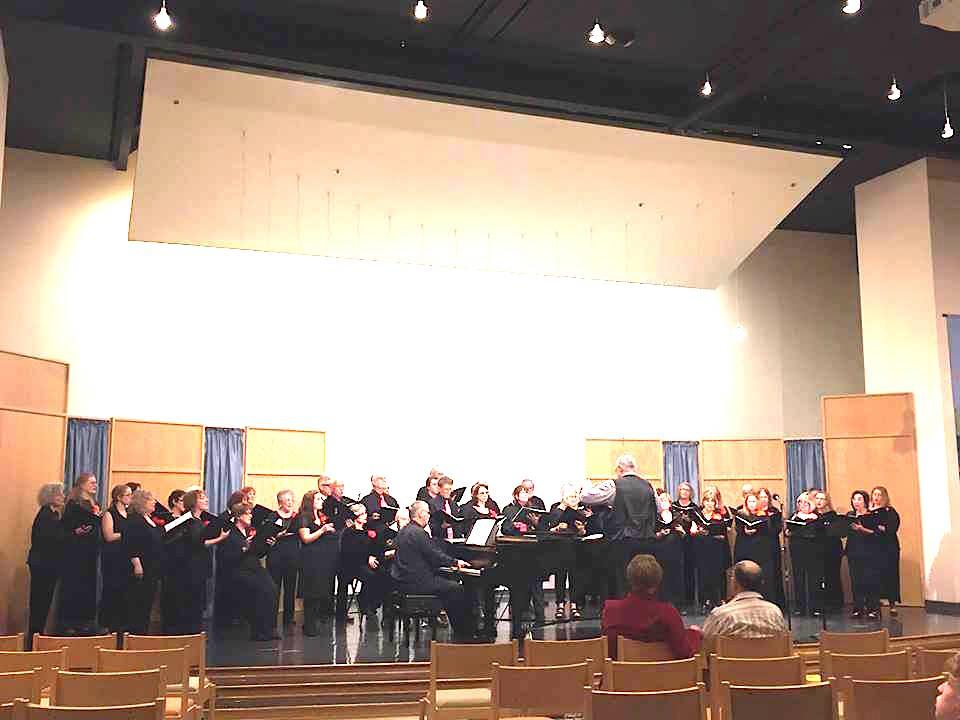 CRC sings Glaser Center 4:29:17 at CALIFORNIA REDWOOD CHORALE | {Gläser 36}