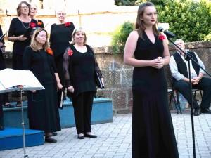 "Elise Reichenfeld sings ""O Mio Babbino Caro"" in Tuscany"