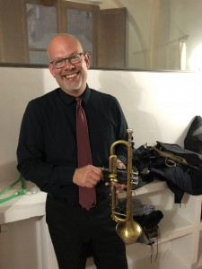 Doug Reichenfeld ready to perform in Tuscany